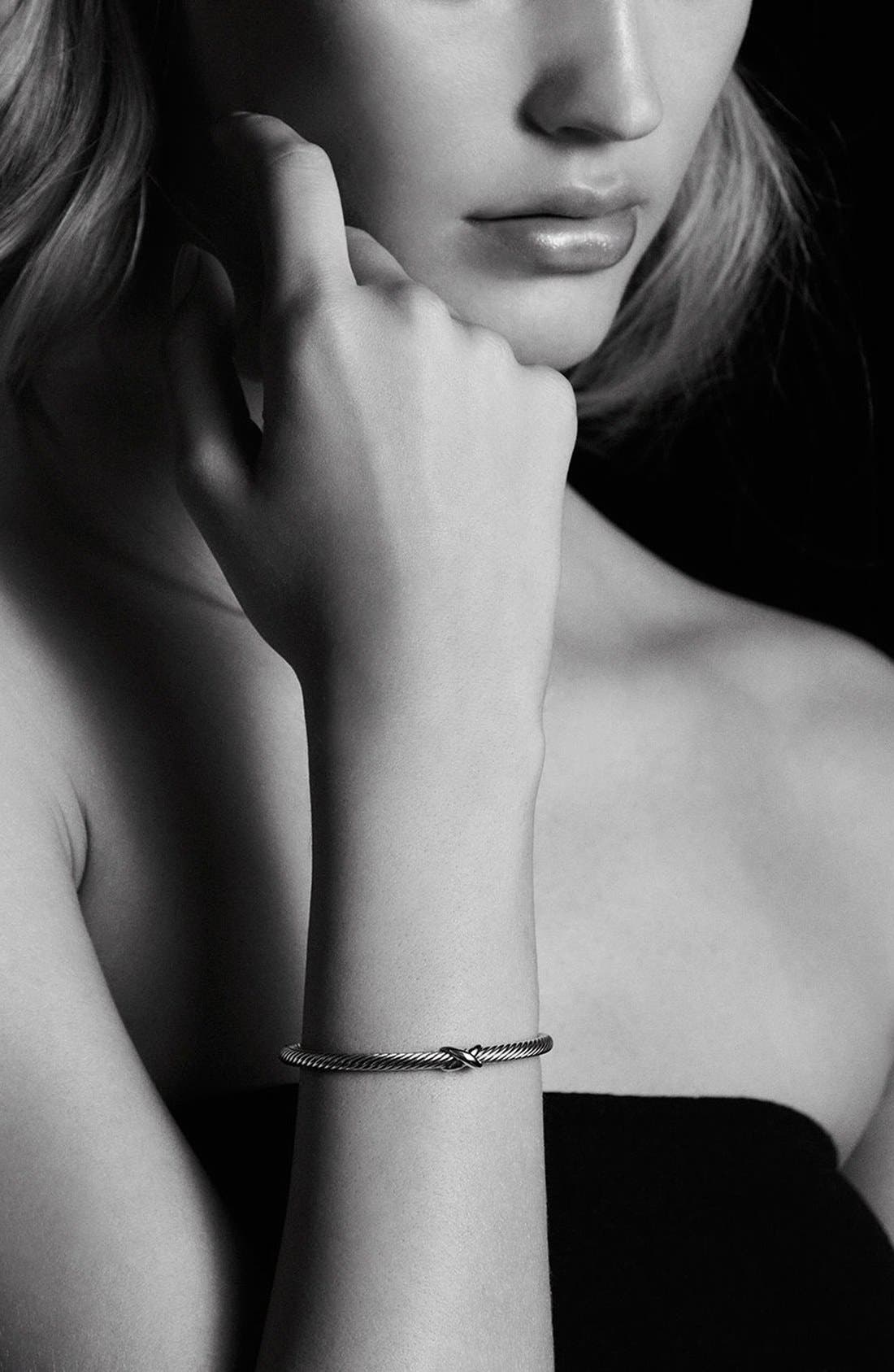 Alternate Image 3  - David Yurman 'X' Bracelet with Gold