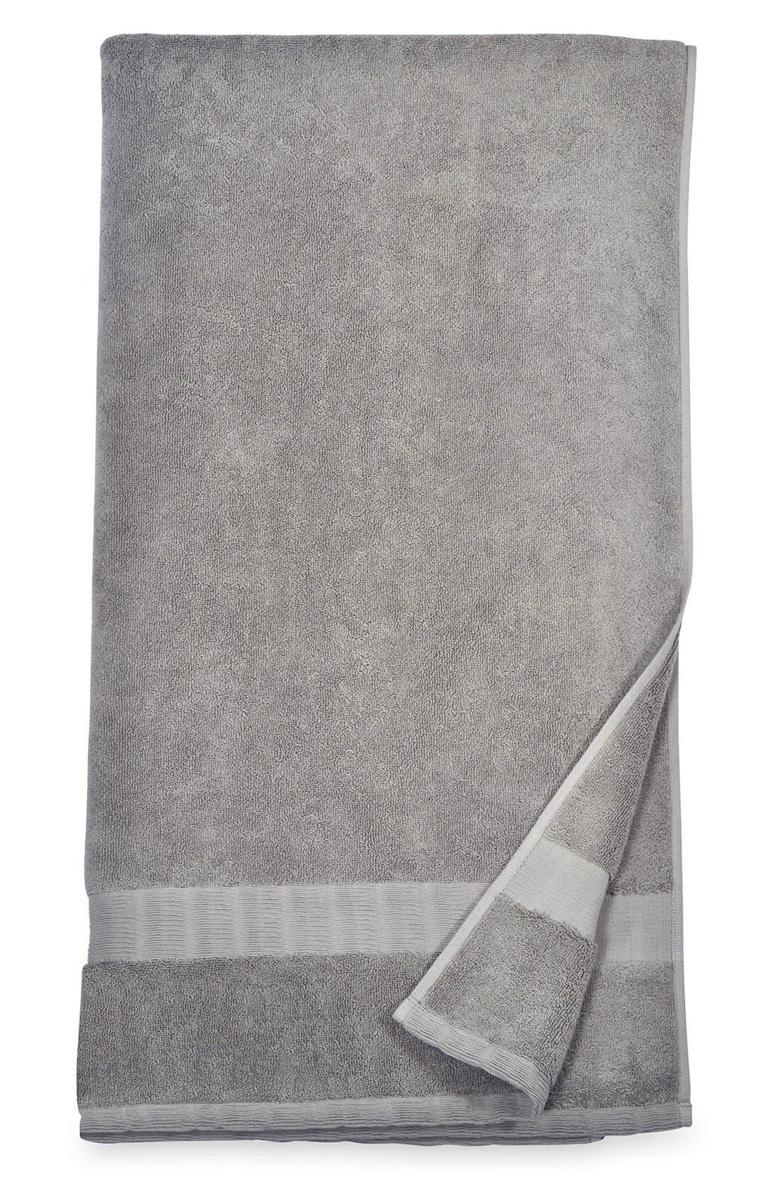 Mercer Bath Towel,                             Main thumbnail 1, color,                             Grey