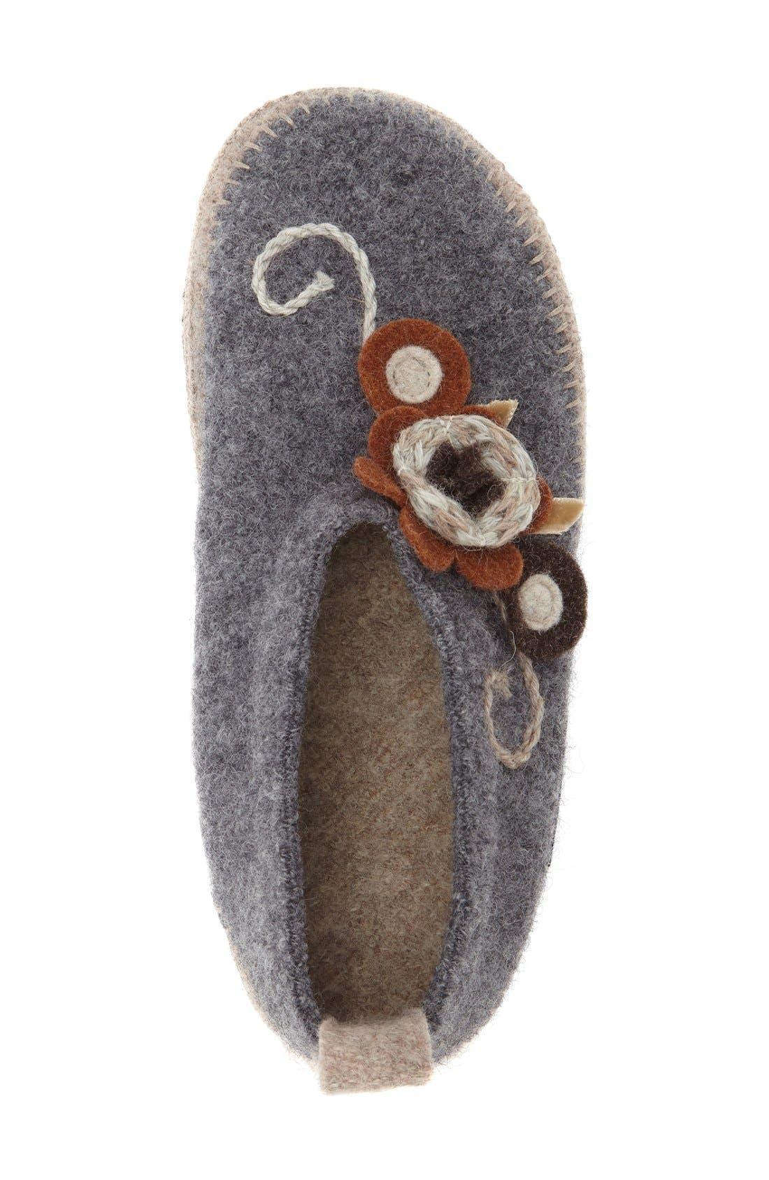 'Lunz' Slipper,                             Alternate thumbnail 3, color,                             Stone Wool