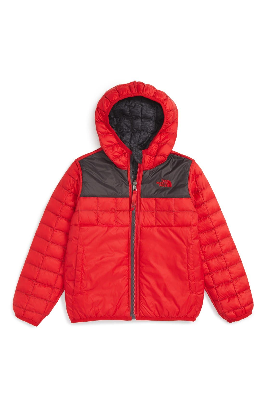 Alternate Image 2  - The North Face ThermoBall™ PrimaLoft® Reversible Hooded Jacket (Toddler Boys & Little Boys)
