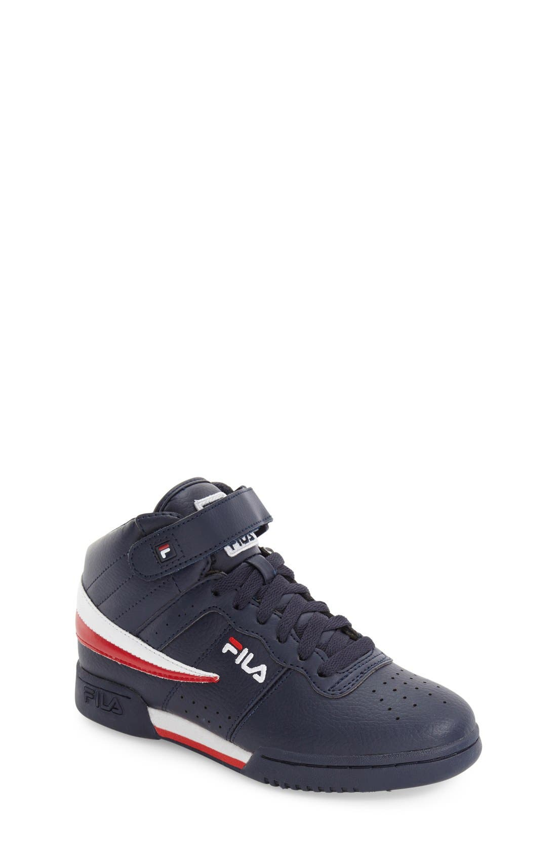 FILA F-13 High Top Sneaker (Big Kid)
