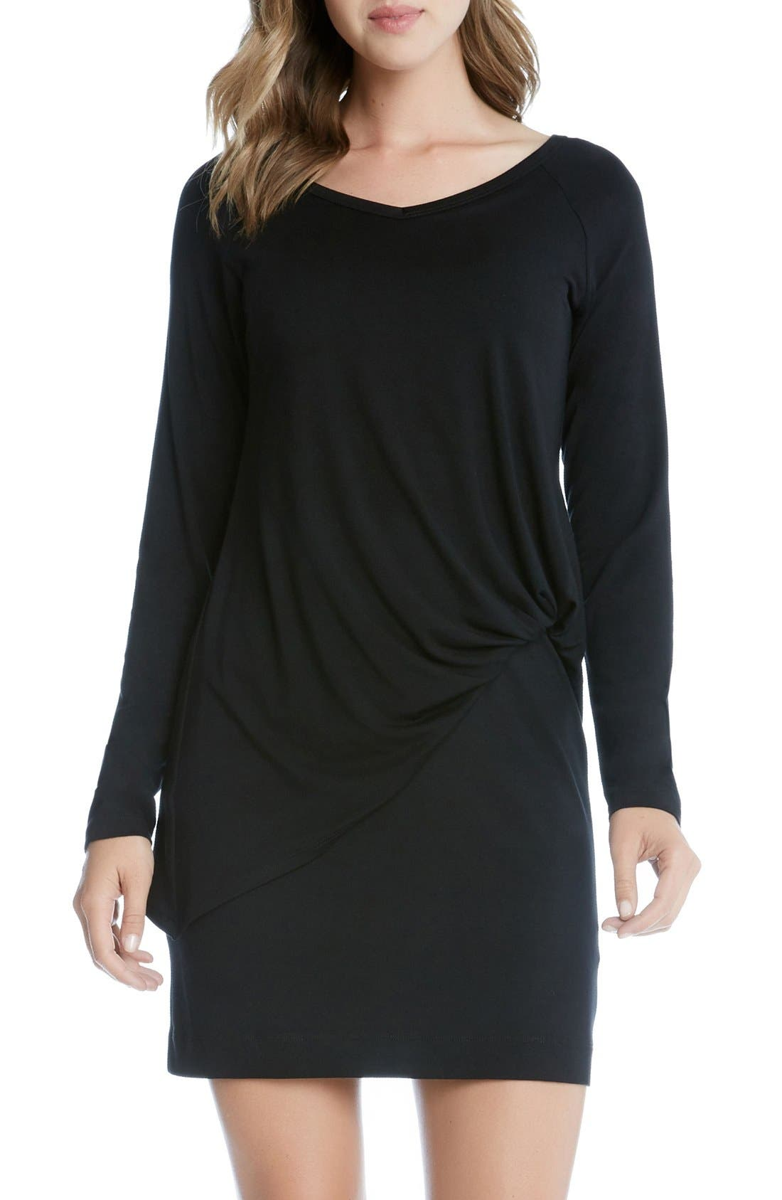 KAREN KANE Riley Layered Blouson Dress