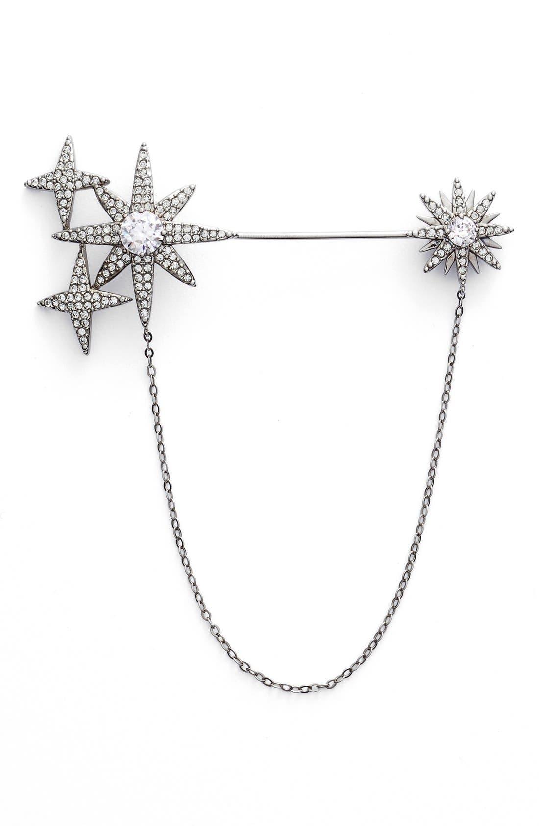 NADRI Stardust Cubic Zirconia Brooch