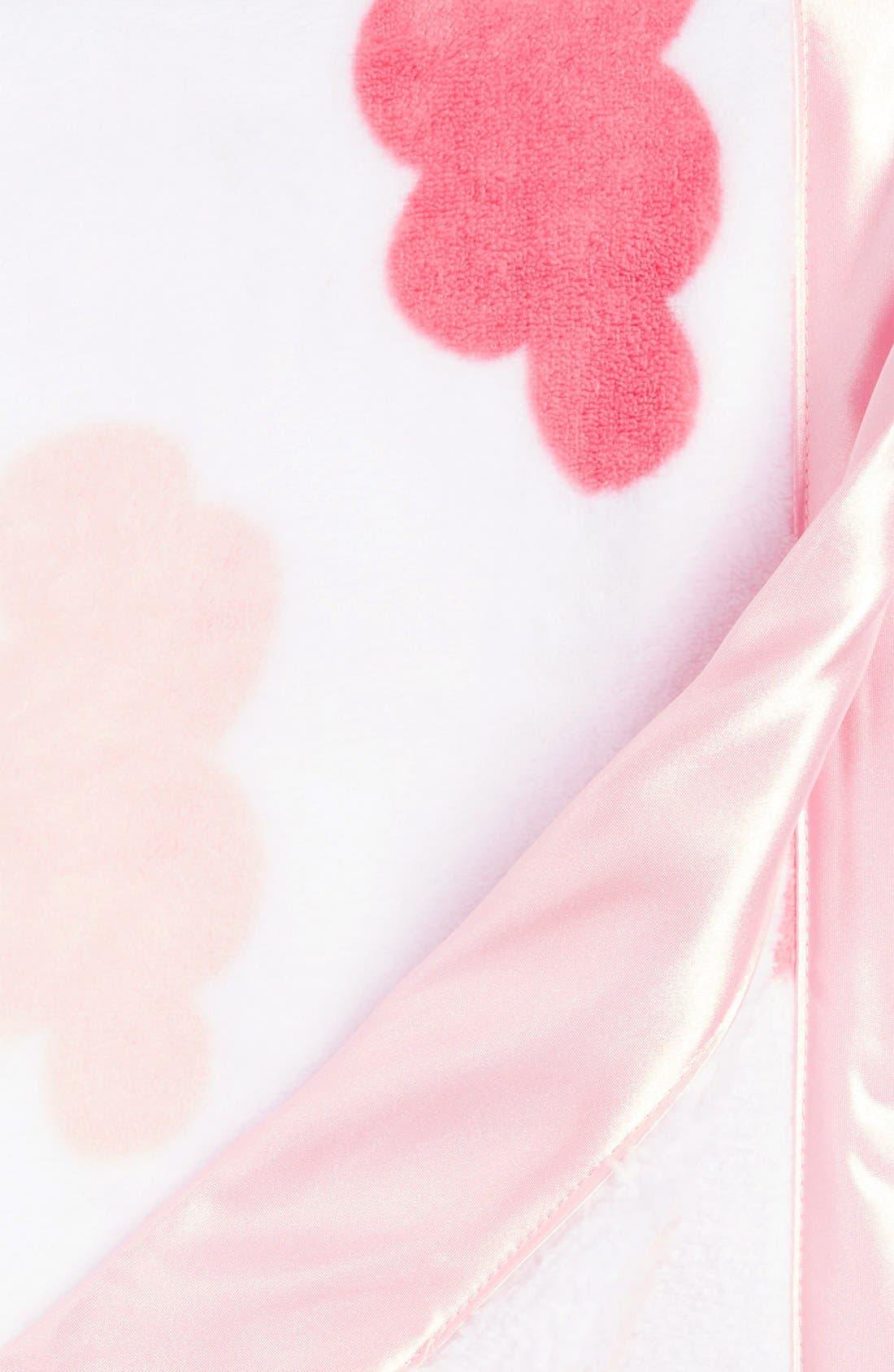 Alternate Image 2  - Nordstrom Baby Print Plush Blanket