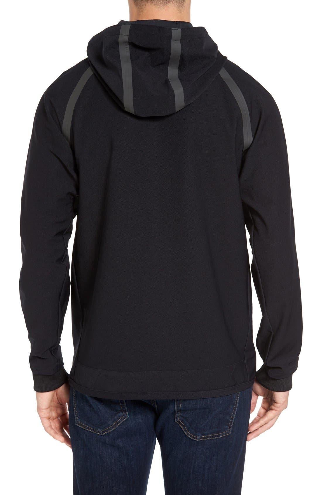 Alternate Image 2  - RVCA Sport Grappler Hooded Jacket