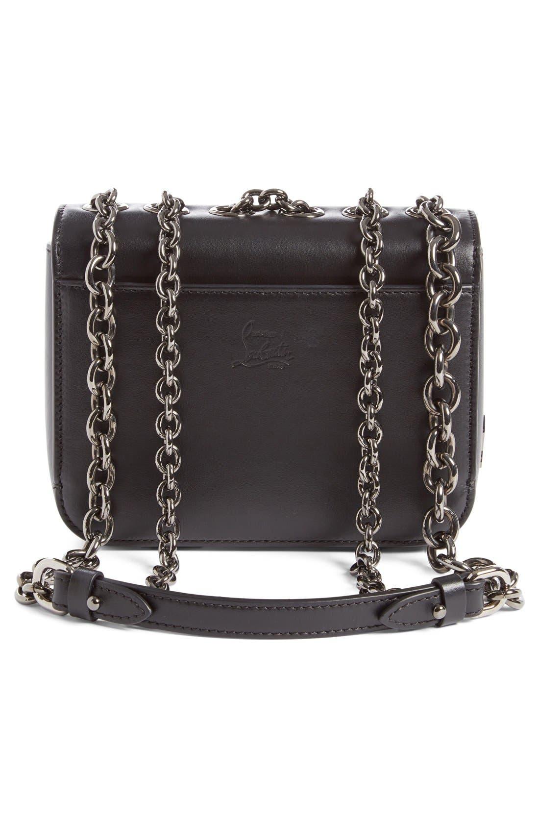 Alternate Image 3  - Christian Louboutin 'Small Sweet Charity' Spiked Calfskin Shoulder/Crossbody Bag