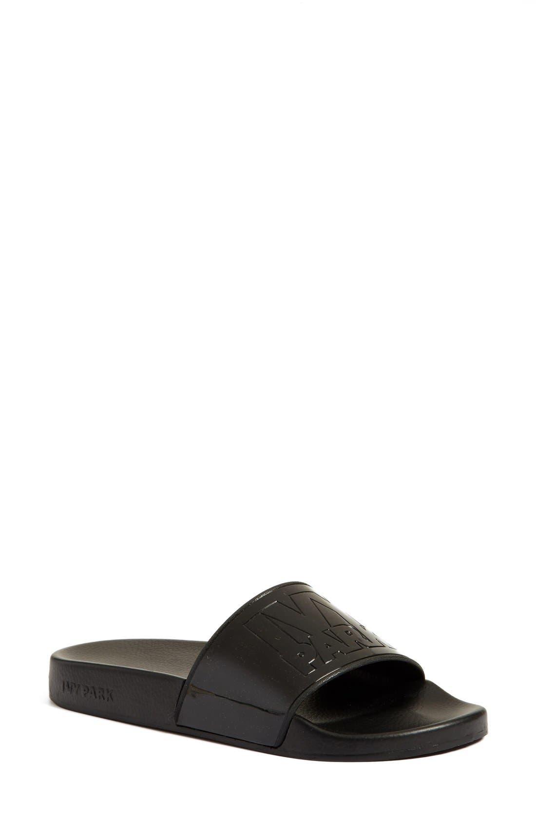 Alternate Image 1 Selected - IVY PARK® Logo Slide Sandal (Women)