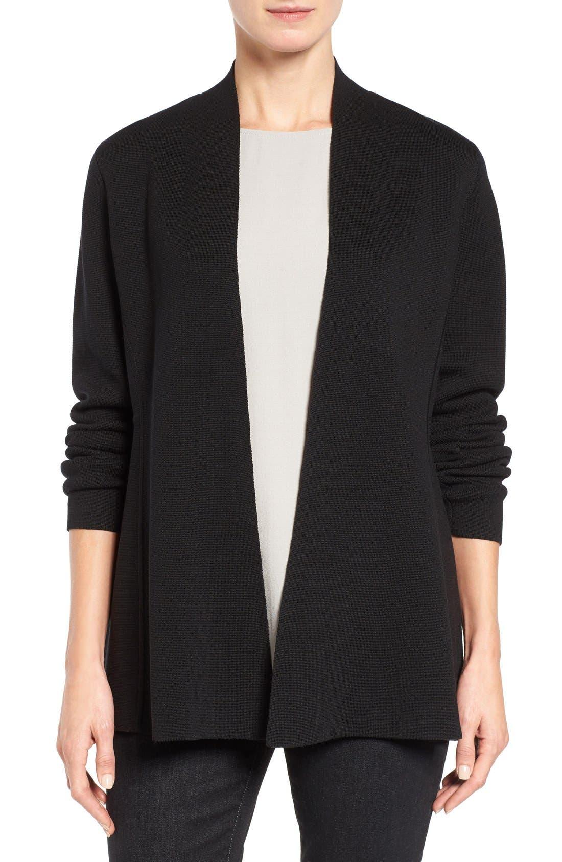Eileen Fisher Silk & Organic Cotton Cardigan (Nordstrom Exclusive)