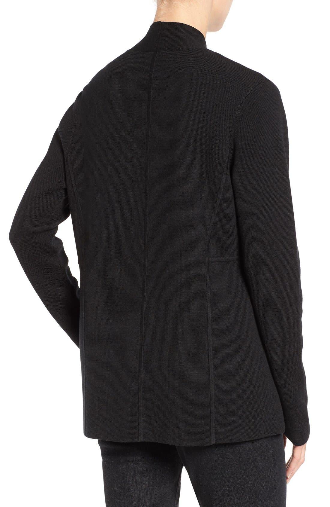 Alternate Image 2  - Eileen Fisher Silk & Organic Cotton Cardigan (Nordstrom Exclusive)