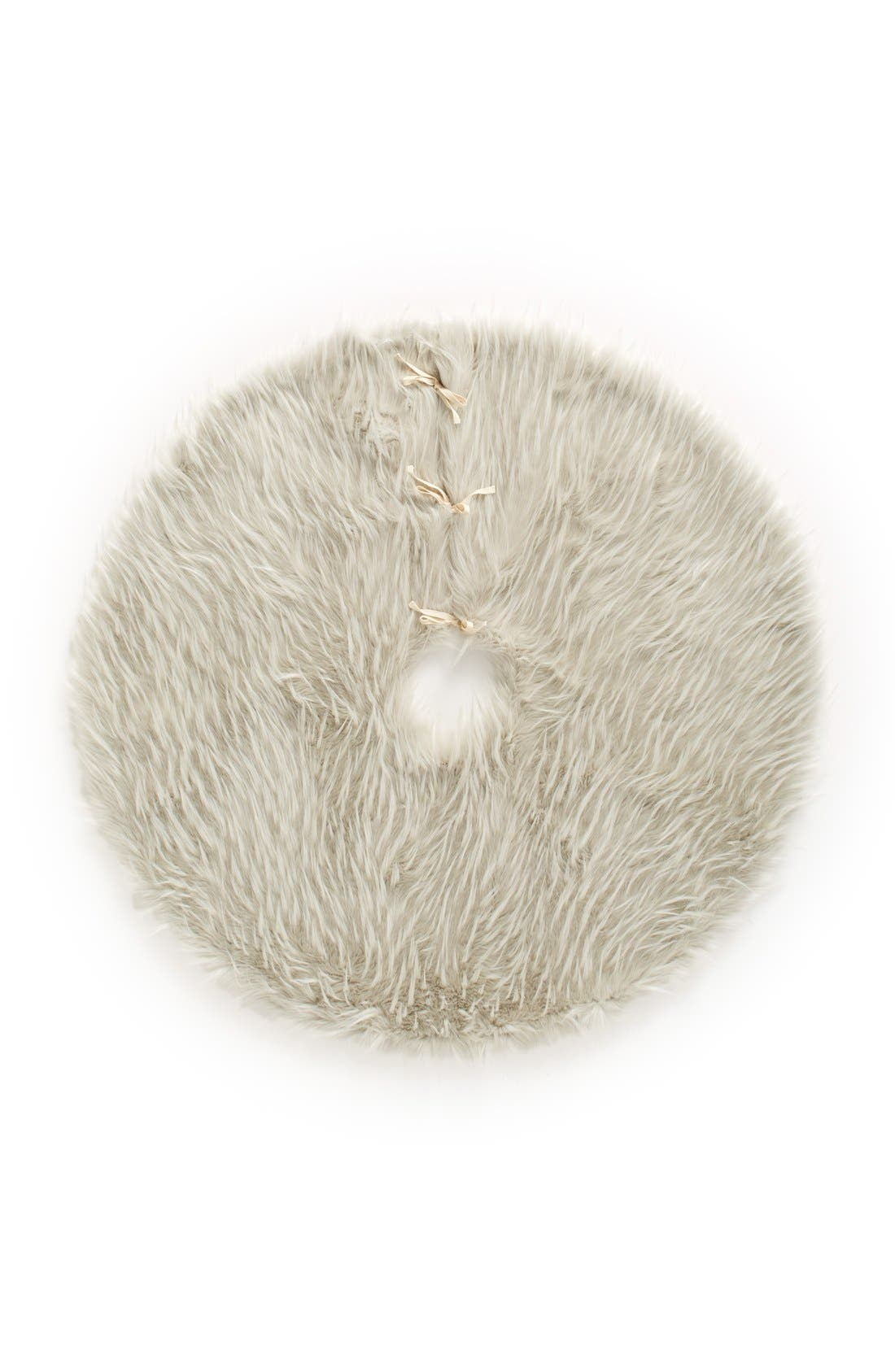Alternate Image 1 Selected - Nordstrom at Home Cuddle Up Faux Fur Tree Skirt