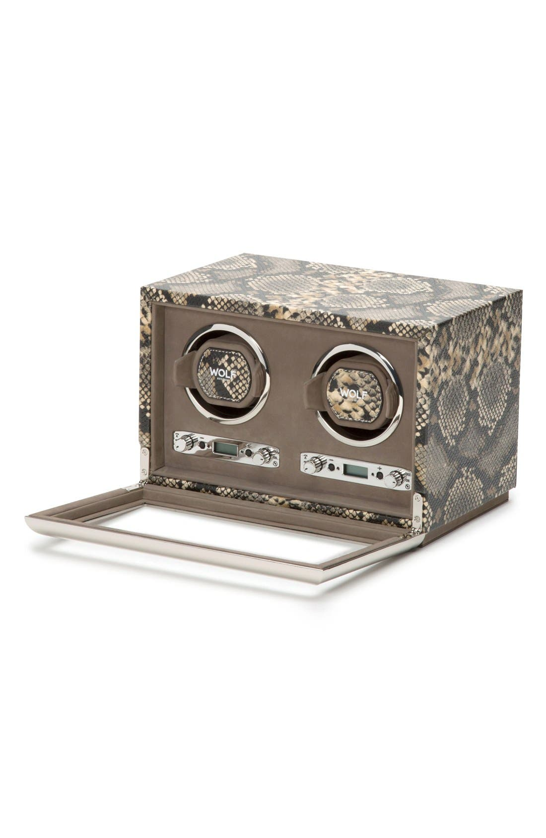 Alternate Image 3  - Wolf Exotic Double Watch Winder