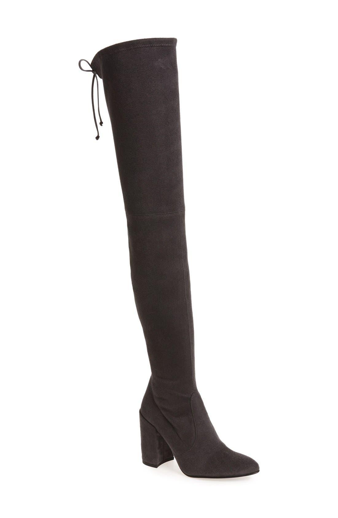 Alternate Image 1 Selected - Stuart Weitzman 'All Legs' Thigh High Boot (Women)