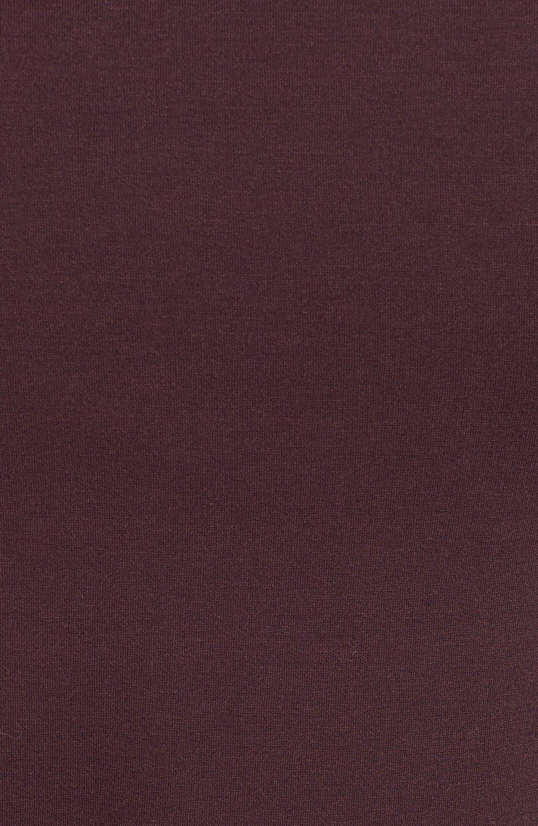 Alternate Image 5  - Bobeau One-Button Fleece Wrap Cardigan (Regular & Petite)