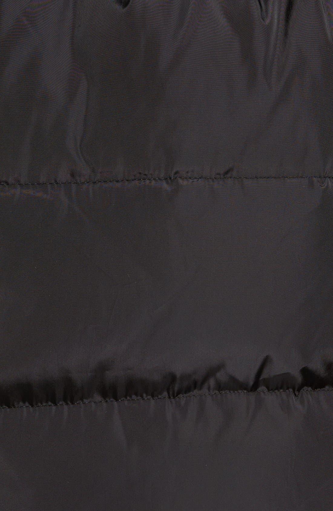 Alternate Image 5  - MICHAEL Michael Kors Faux Fur Trim Belted Down & Feather Fill Parka