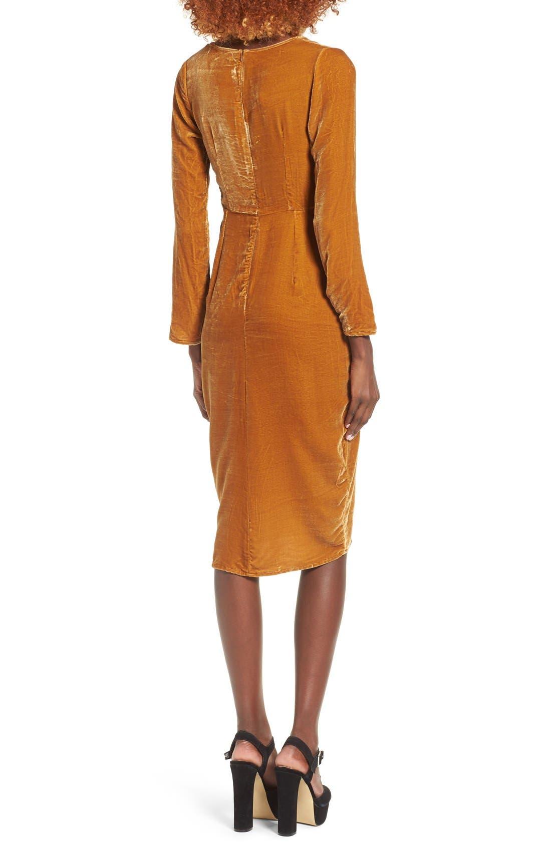 Alternate Image 2  - For Love & Lemons Collette Midi Dress