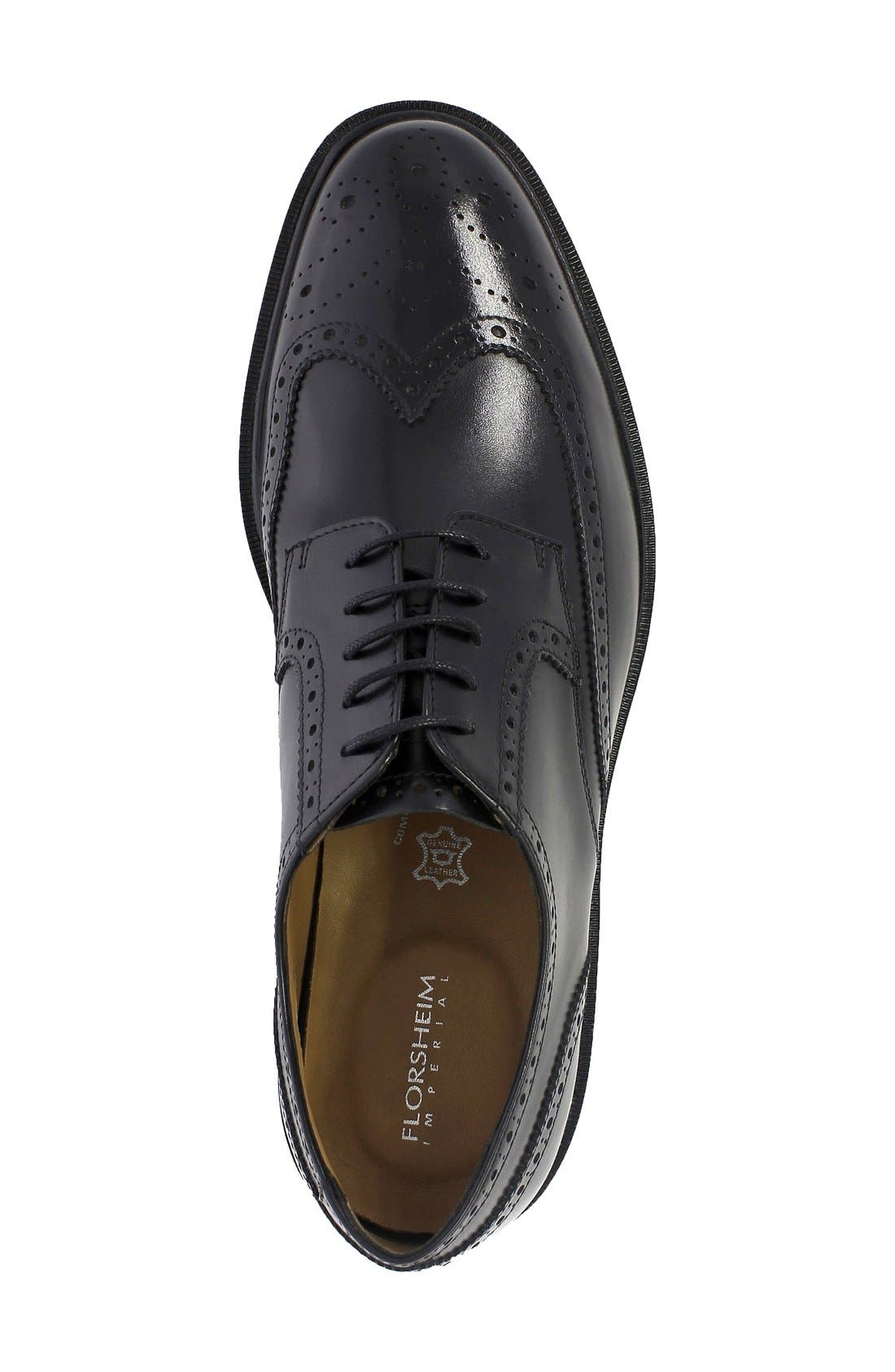 Alternate Image 3  - Florsheim Hamilton Wingtip (Men)