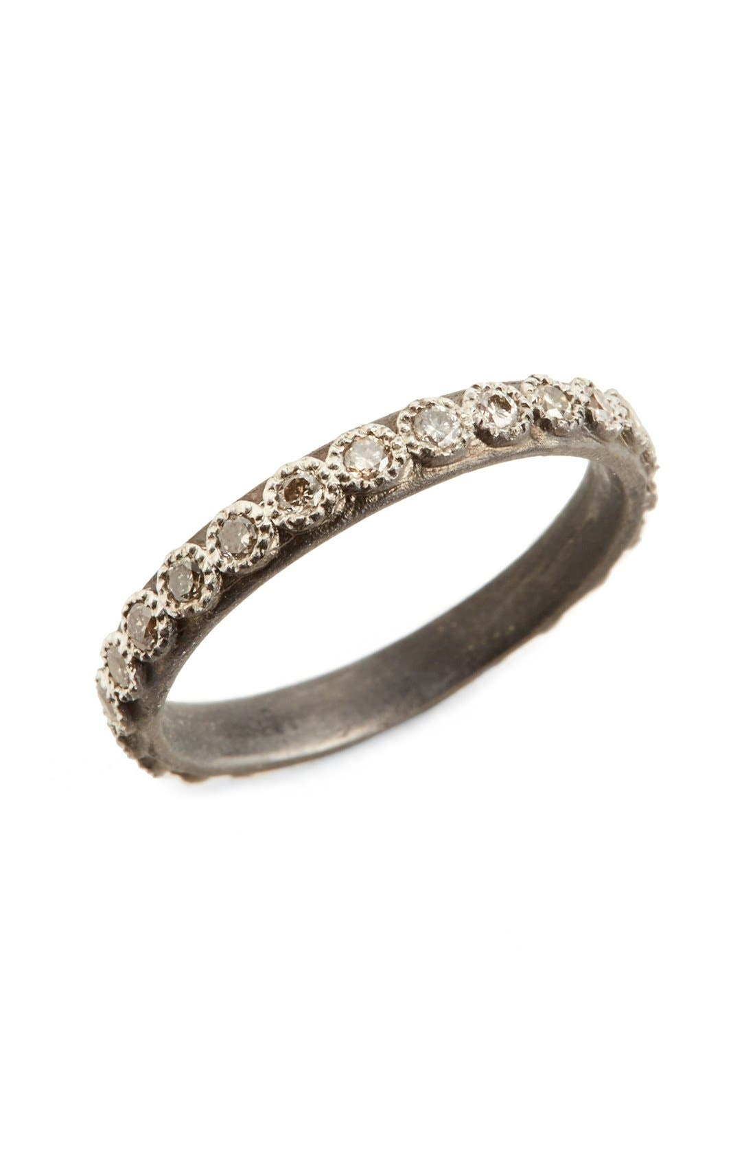 ARMENTA New World Diamond Ring