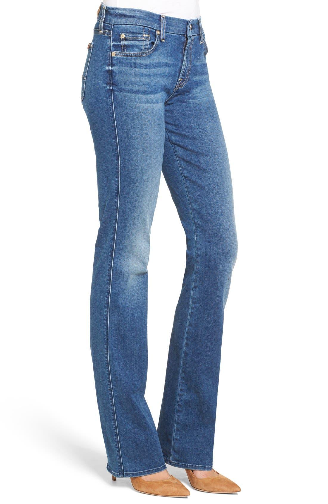 Alternate Image 3  - 7 For All Mankind® 'b(air) - Kimmie' Straight Leg Jeans (Duchess)