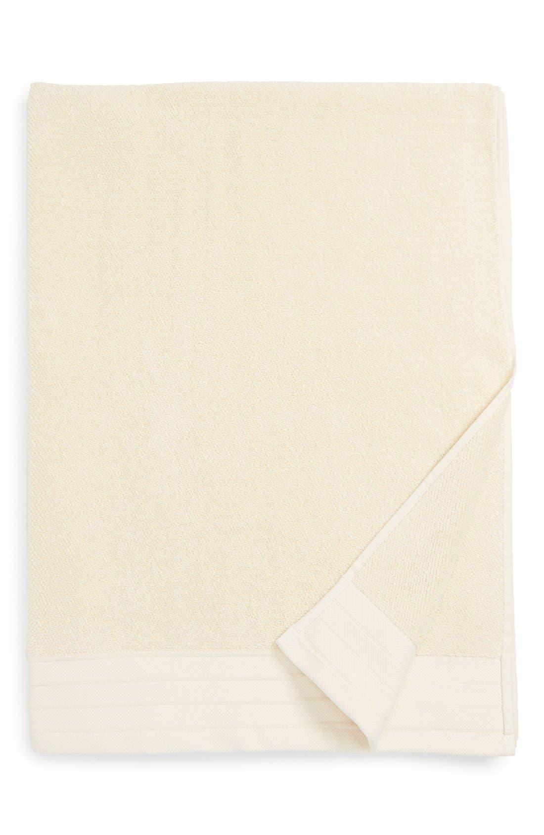 Classic Luxe Cotton Bath Sheet,                         Main,                         color, Cream