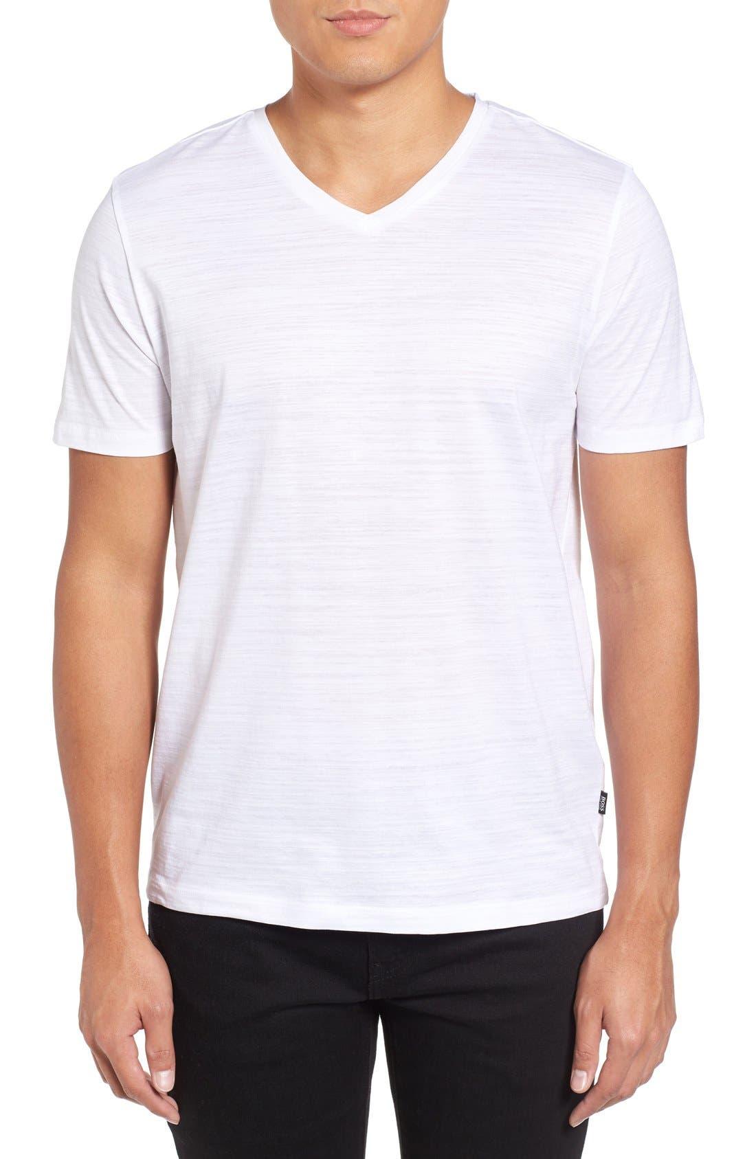 Tilson 50 V-Neck T-Shirt,                         Main,                         color, White
