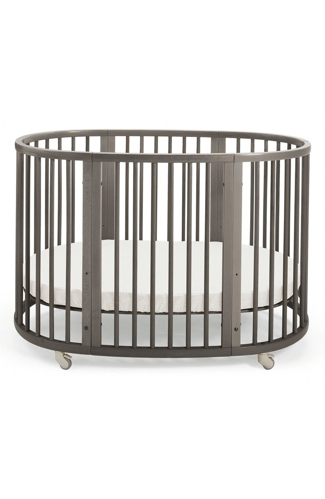 Convertible Sleepi Crib & Toddler Bed,                         Main,                         color, Hazy Grey