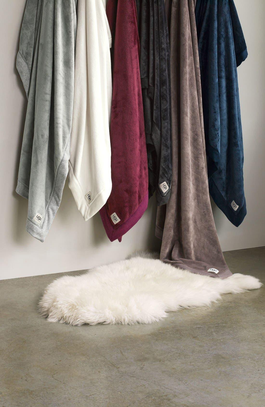 Alternate Image 4  - UGG® Genuine Sheepskin Rug