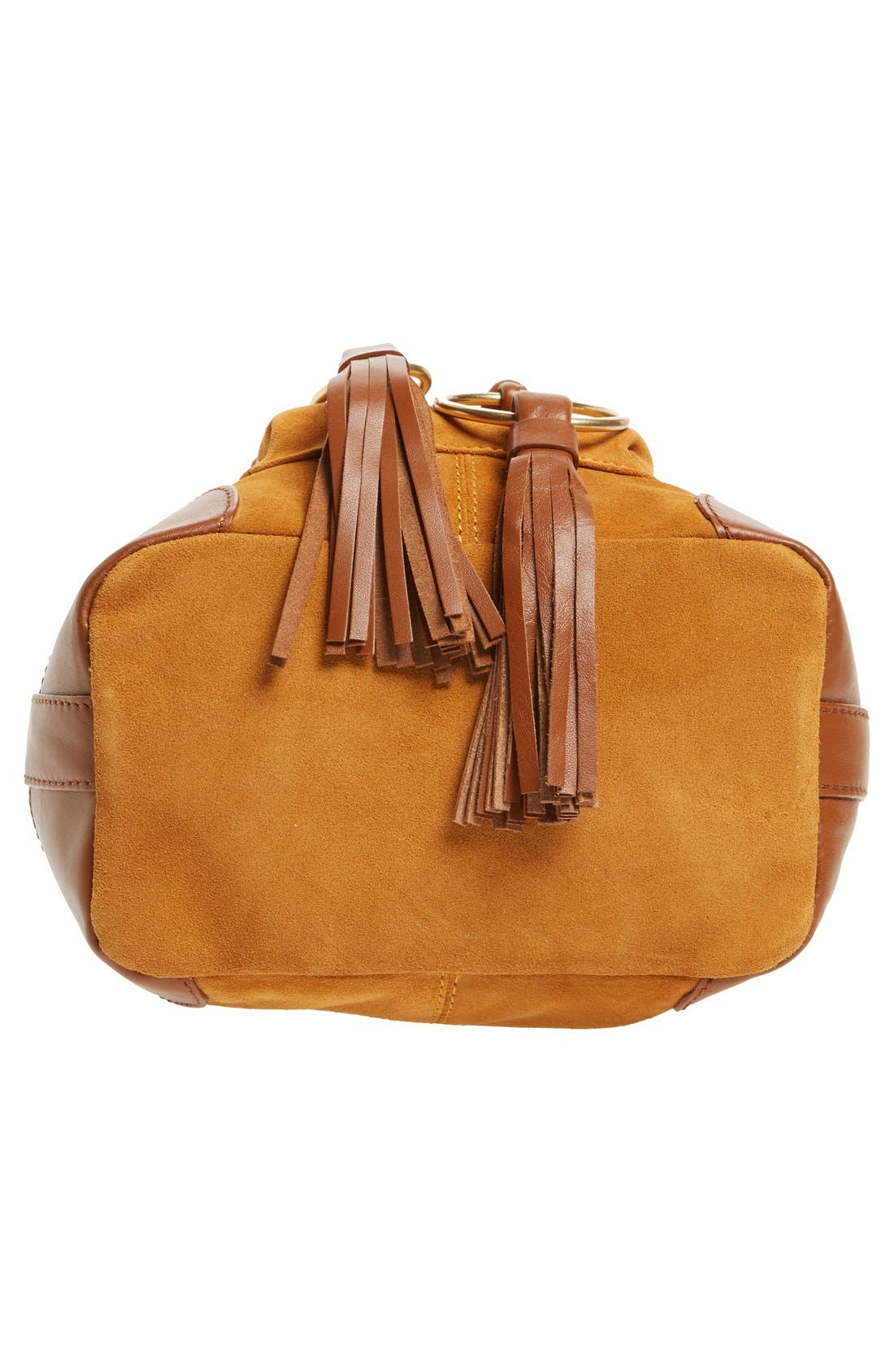 Alternate Image 6  - See by Chloé Small Polly Leather Bucket Bag