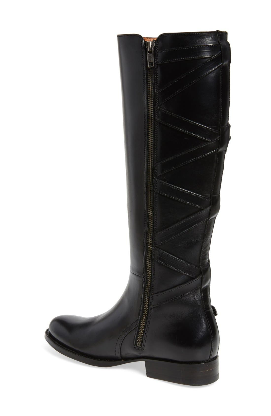Alternate Image 2  - Frye Jordan Strappy Knee High Boot (Women)