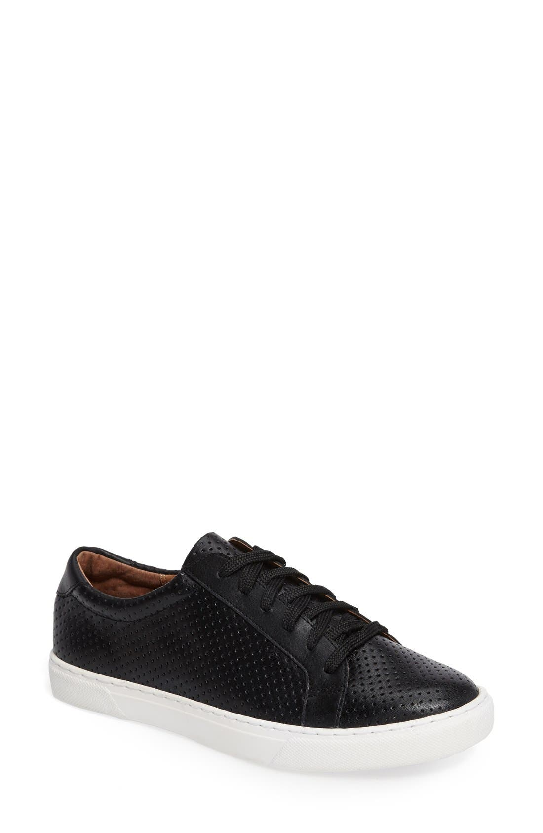 Caslon® Cassie Perforated Sneaker (Women)