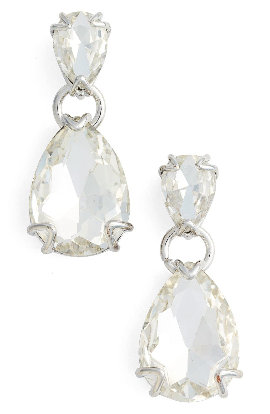 Alternate Image 1 Selected - Nordstrom Pear Drop Earrings