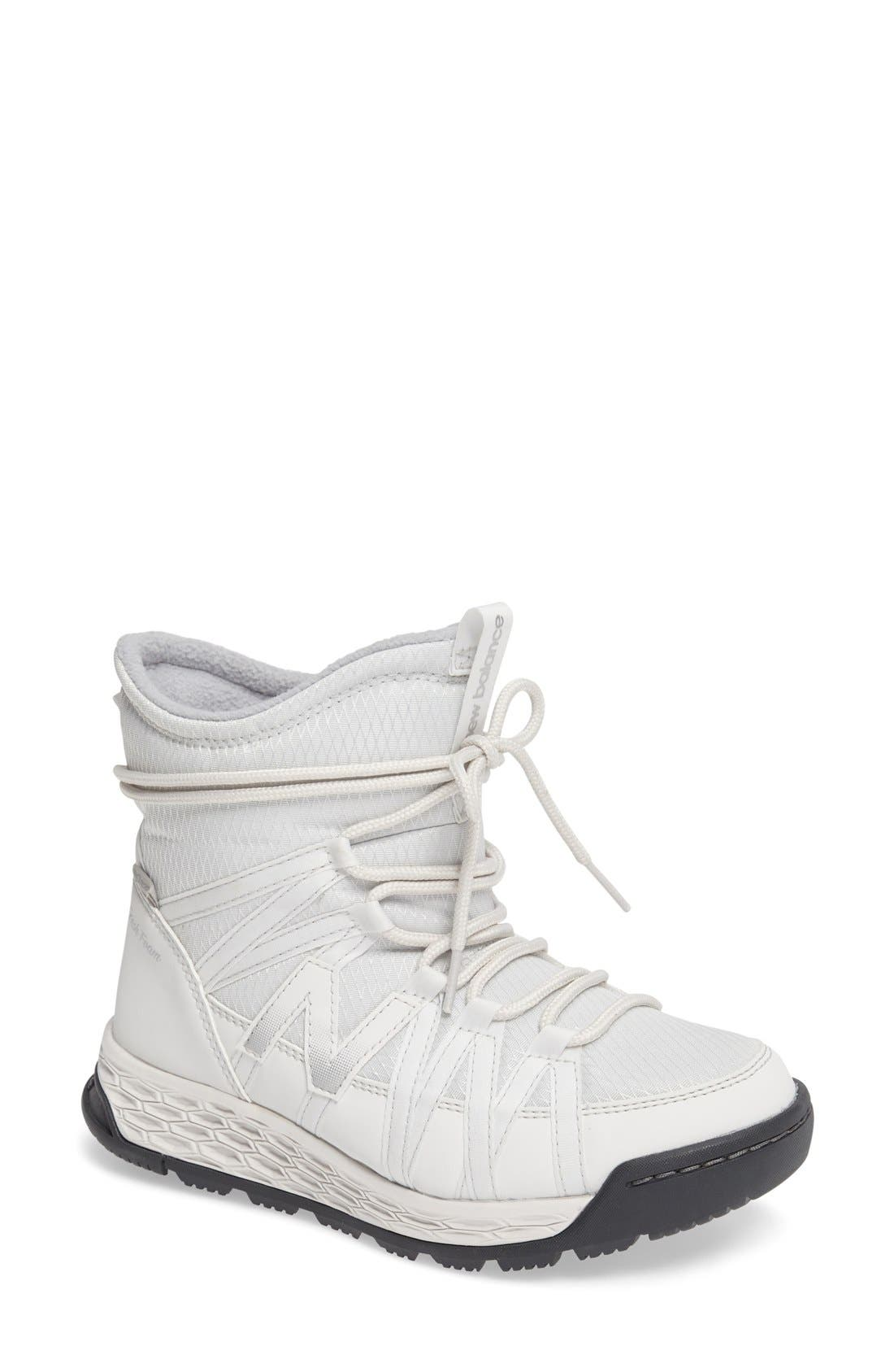 Q416 Weatherproof Snow Boot,                         Main,                         color, White