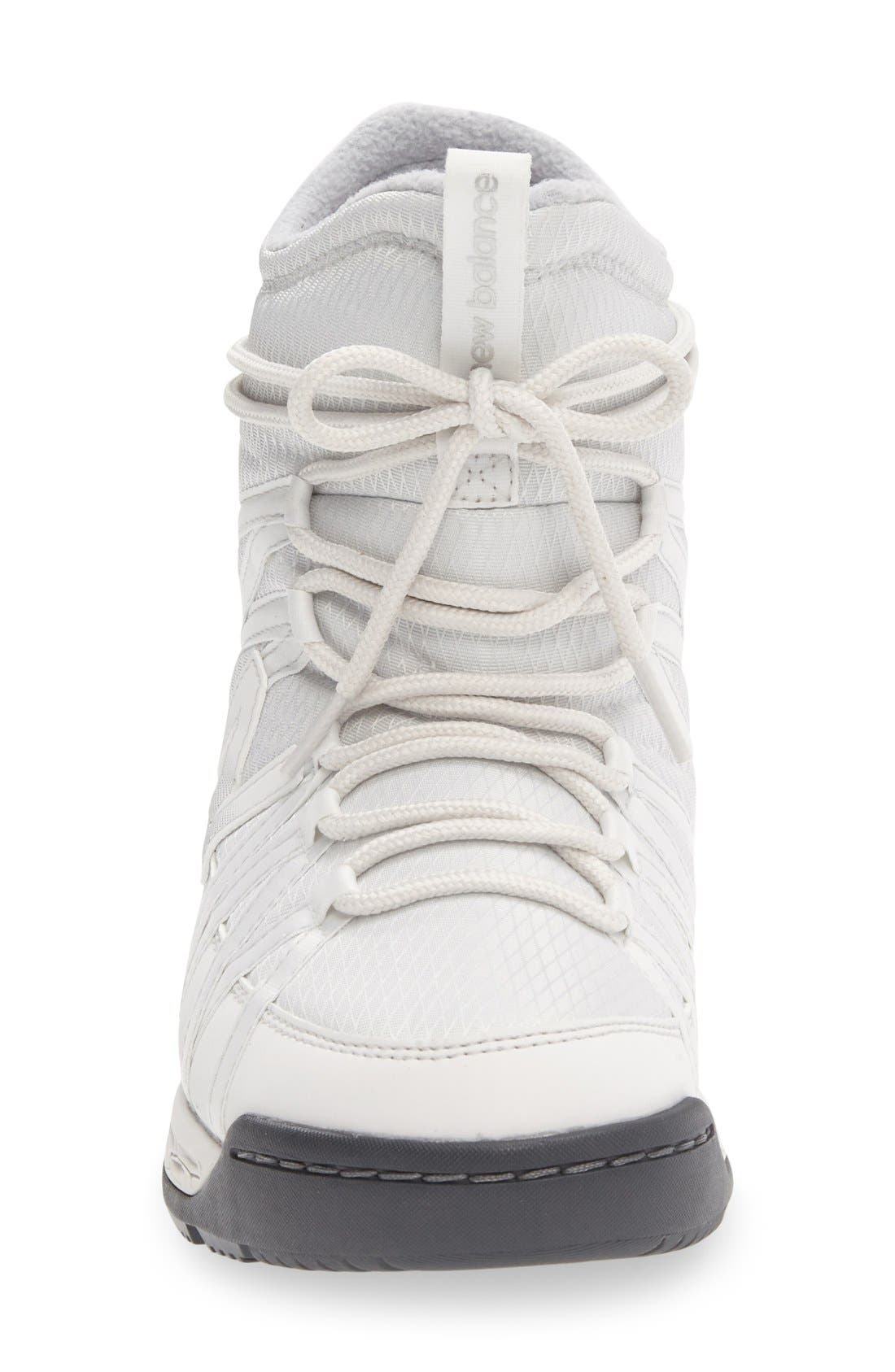 Q416 Weatherproof Snow Boot,                             Alternate thumbnail 3, color,                             White