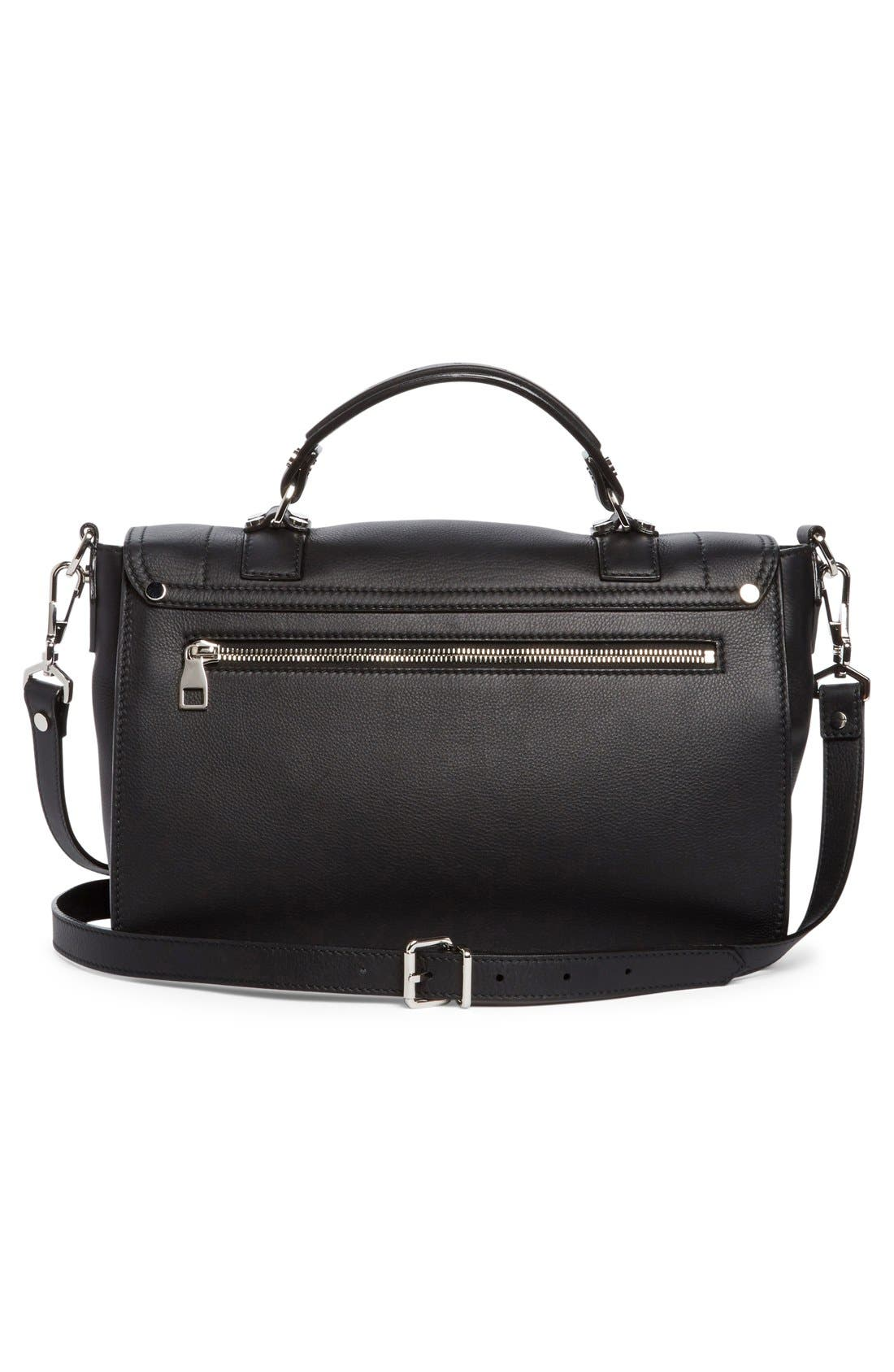 Alternate Image 3  - Proenza Schouler Medium PS1+ Grainy Leather Satchel