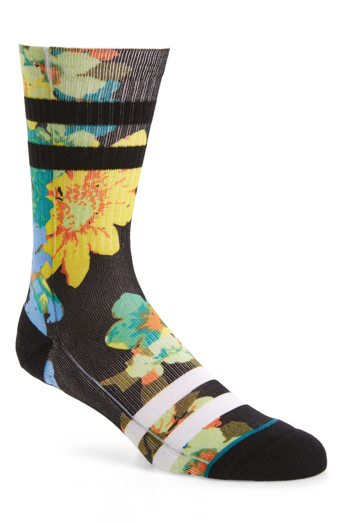 Alternate Image 1 Selected - Stance Corsage Classic Crew Socks