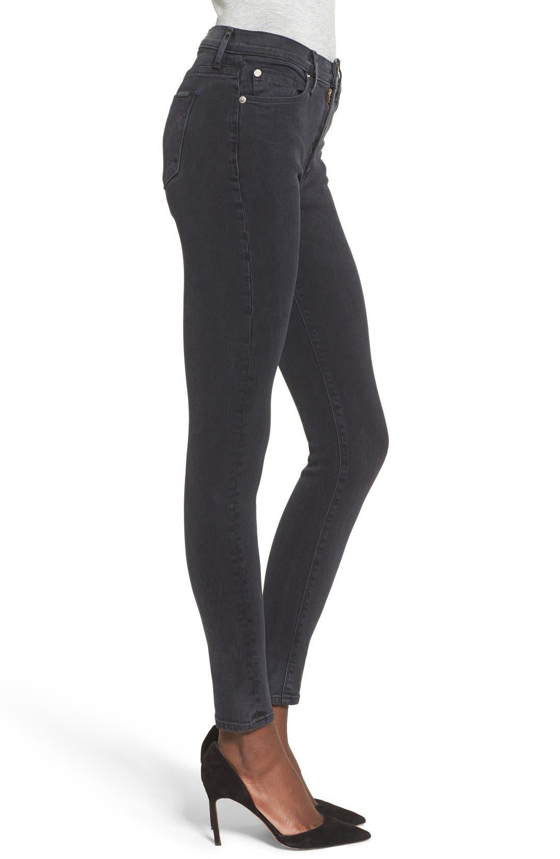 Alternate Image 3  - Hudson Jeans Barbara High Waist Super Skinny Jeans (Bazooka)