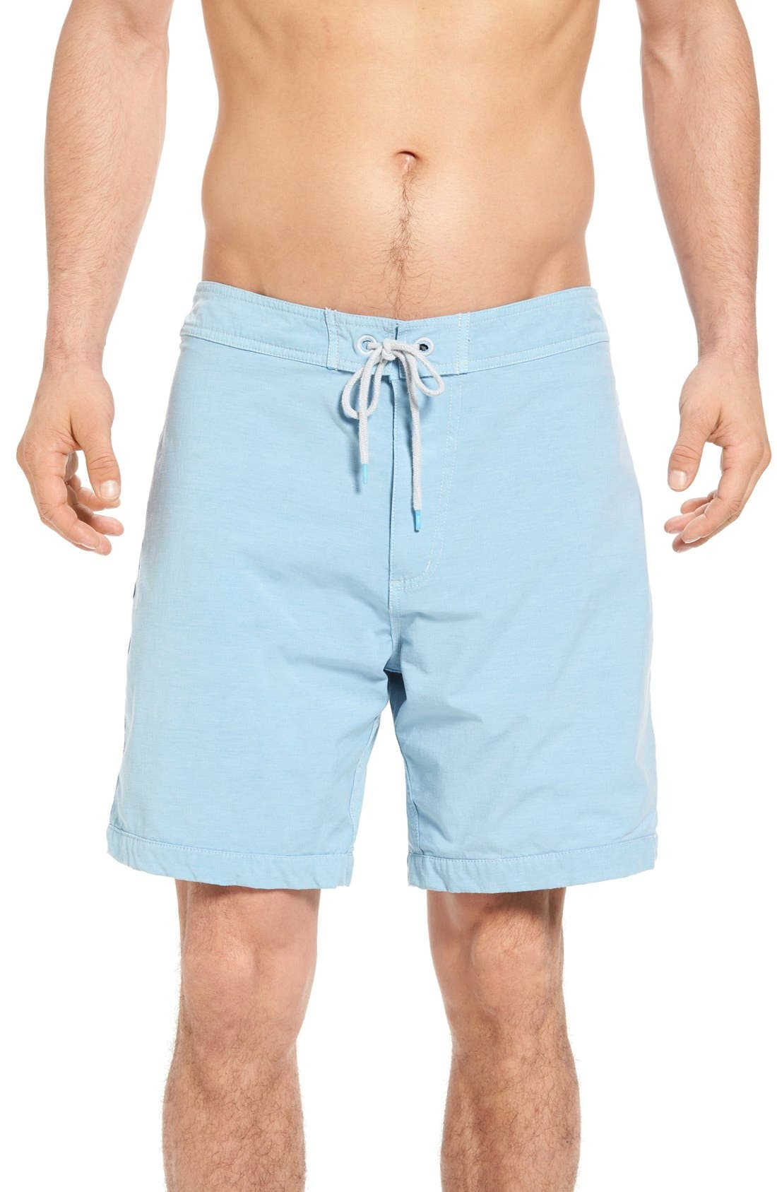 Venice Board Shorts,                         Main,                         color, Light Blue
