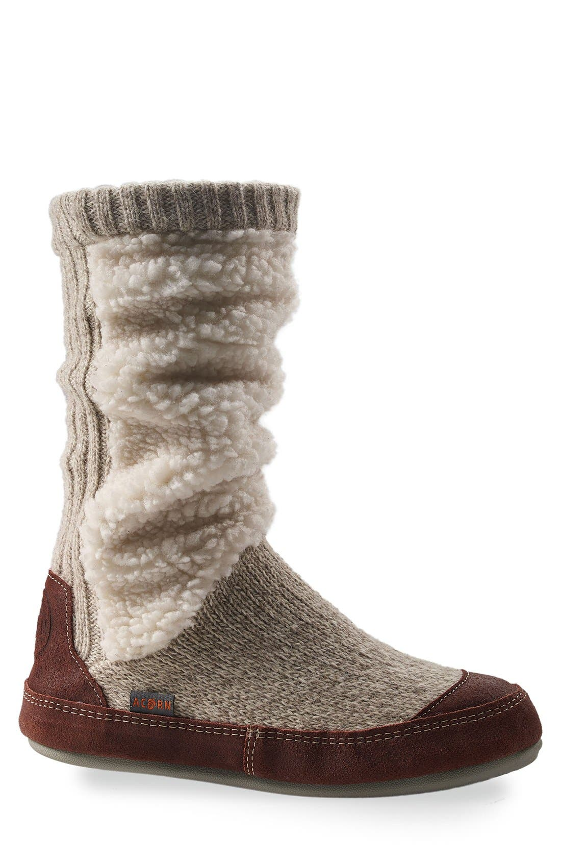 Acorn Slouch Slipper Boot (Women)