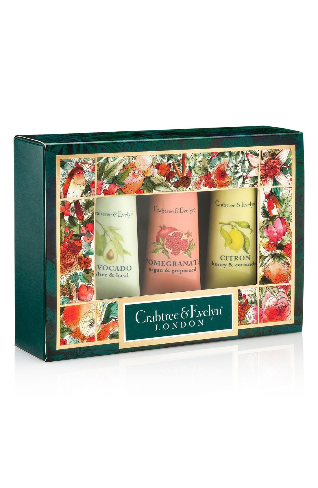 Crabtree & Evelyn Botanicals Hand Therapy Sampler Set ($27 Value)