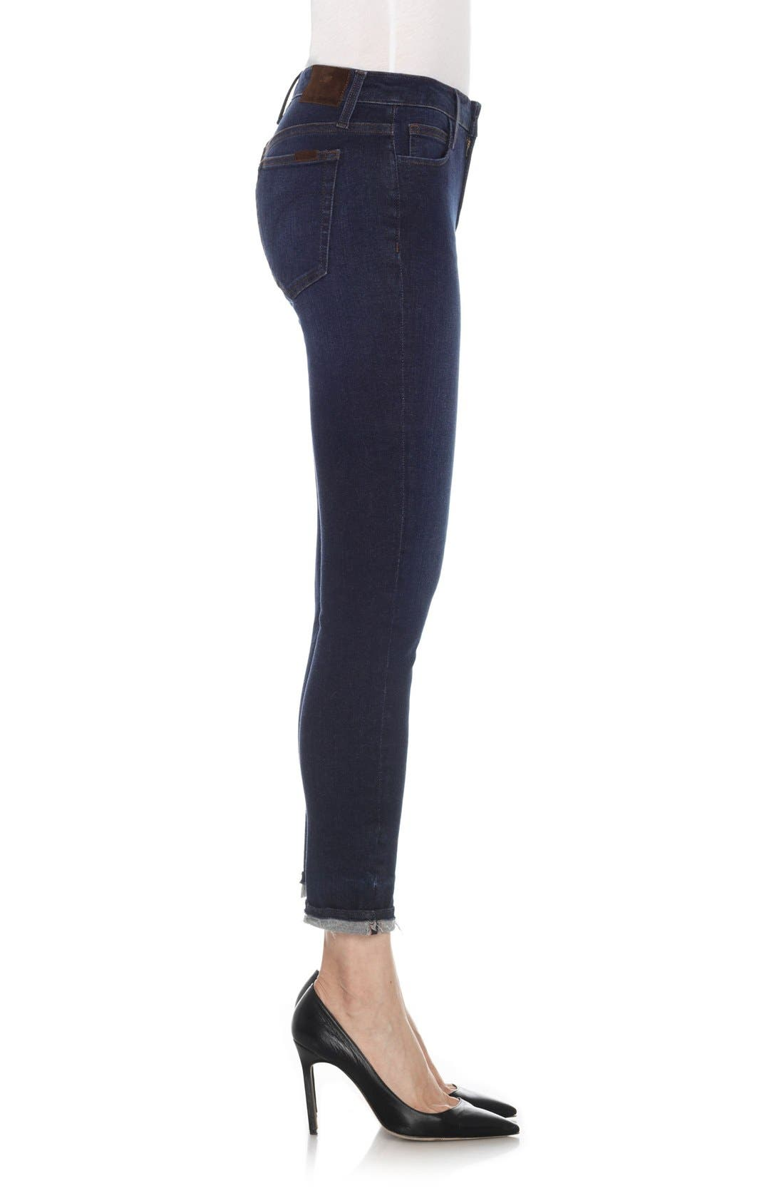 Alternate Image 3  - Joe's Flawless - Markie Crop Skinny Jeans (Cammi)