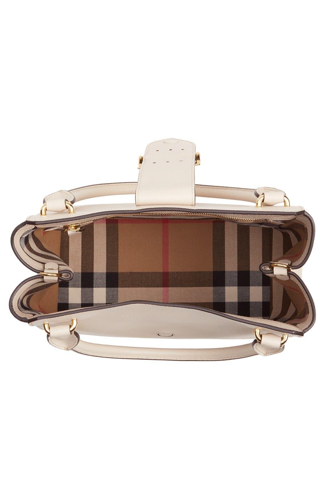 Alternate Image 4  - Burberry Medium Buckle Leather Satchel