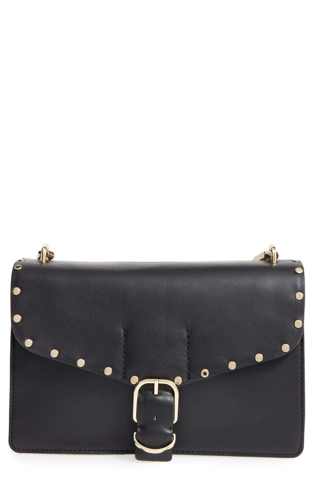 Main Image - Rebecca Minkoff Medium Biker Leather Shoulder Bag