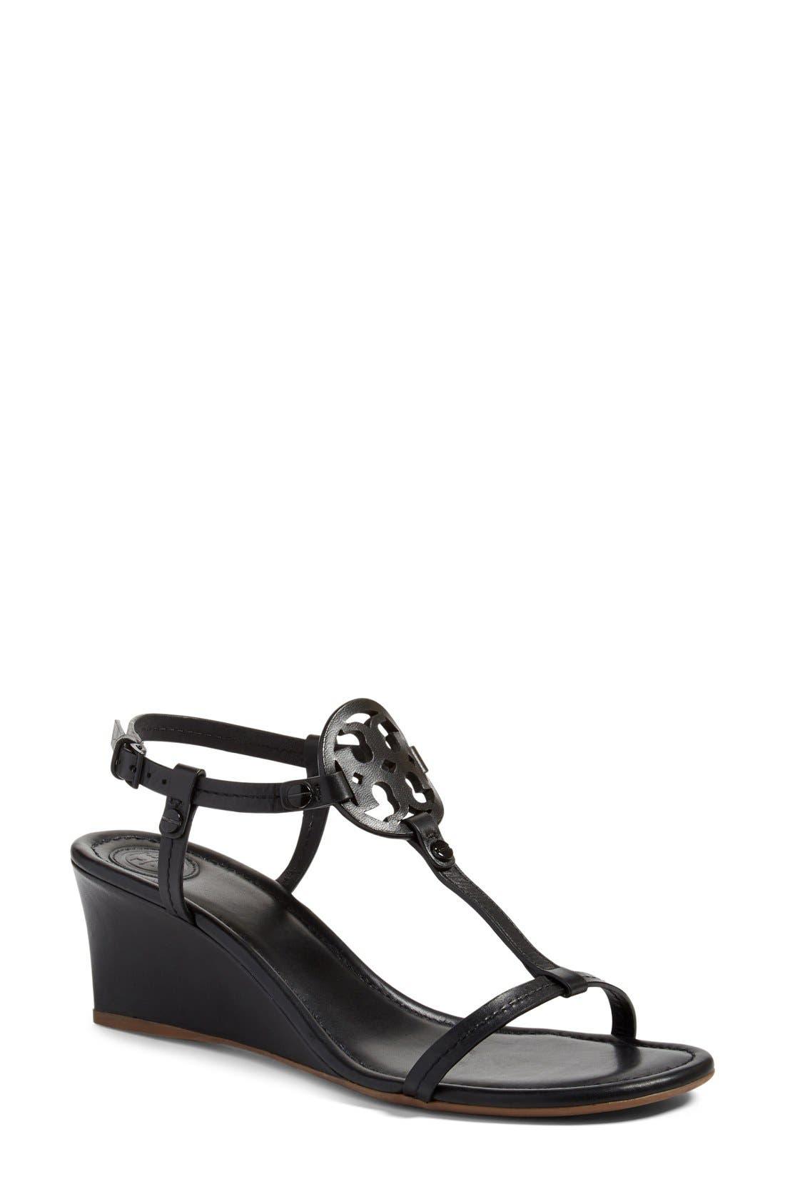 f683f3e51 Sales Tory Burch Miller Wedge Sandal (Women) On-Sale