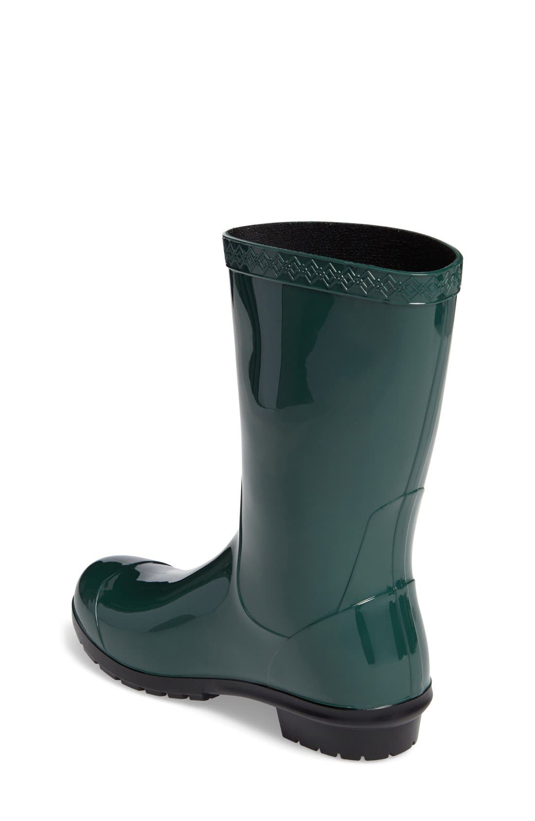 Alternate Image 2  - UGG® Raana Waterproof Rain Boot (Little Kid & Big Kid)