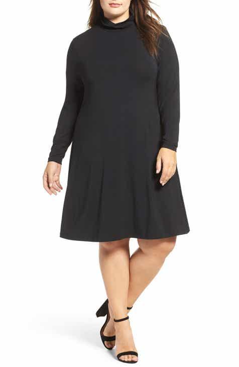 Tart Sally Turtleneck A-Line Dress by TART