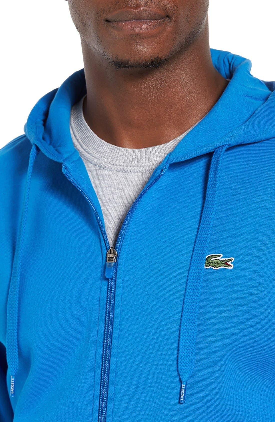 Alternate Image 4  - Lacoste 'Sport' Zip Hoodie