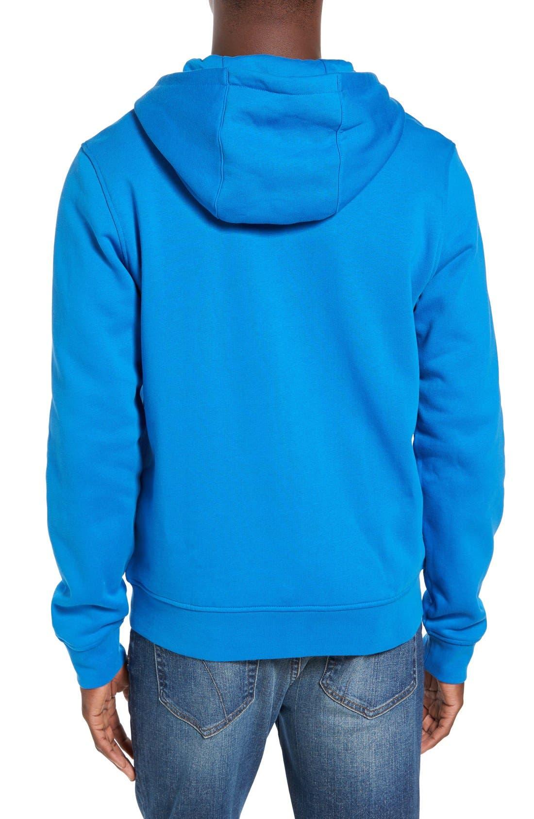 Alternate Image 2  - Lacoste 'Sport' Zip Hoodie