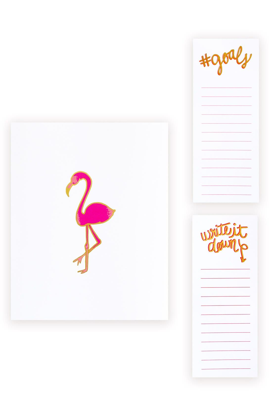 lake + loft Art Print & Magnetic Notepads Set