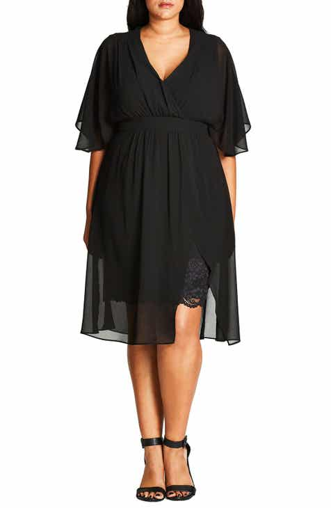 City Chic Love Affair Dress (Plus Size)