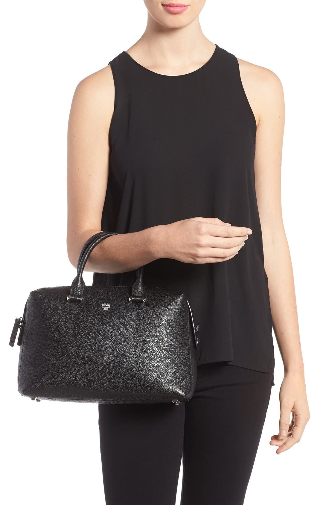 Alternate Image 2  - MCM Medium Ella Boston Bowler Bag