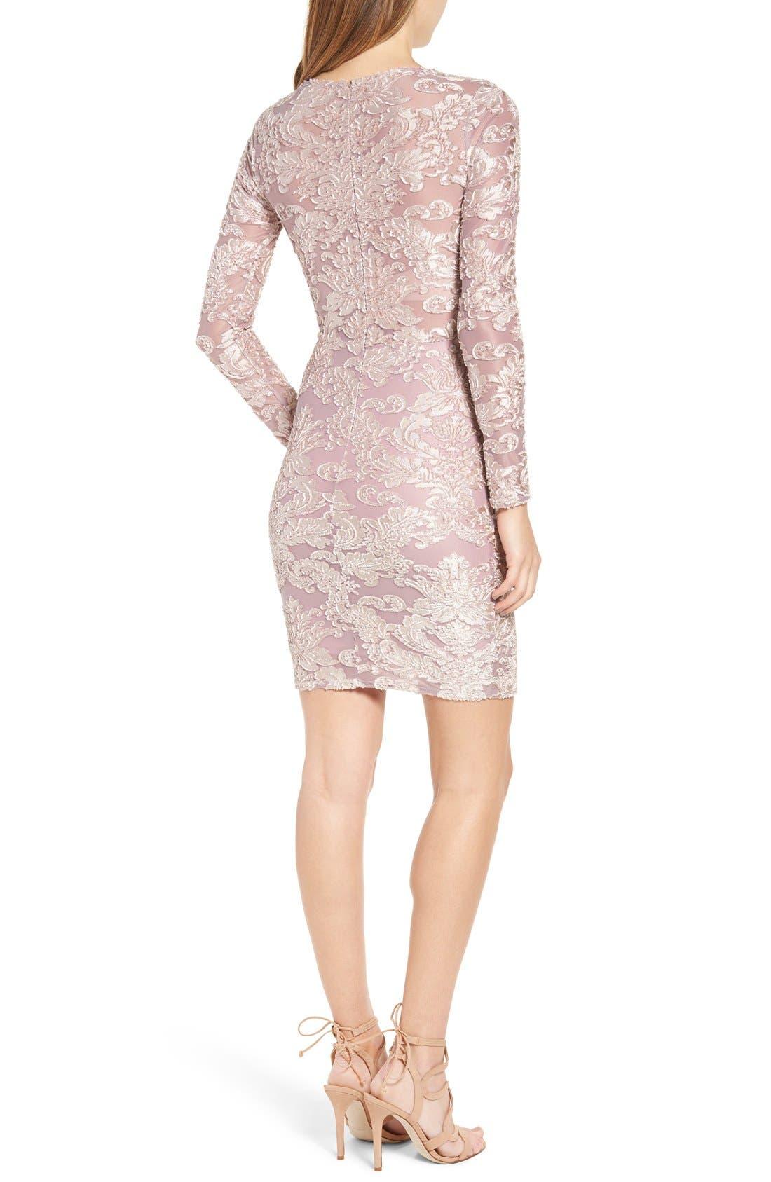 Alternate Image 2  - Leith Floral Velvet Dress